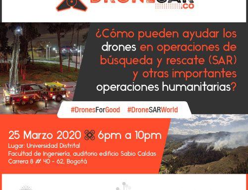 Drone SAR se presenta en la Universidad Distrital de Bogotá