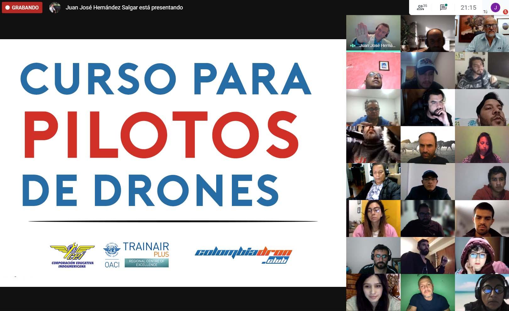 Curso Piloto de Dron en Colombia
