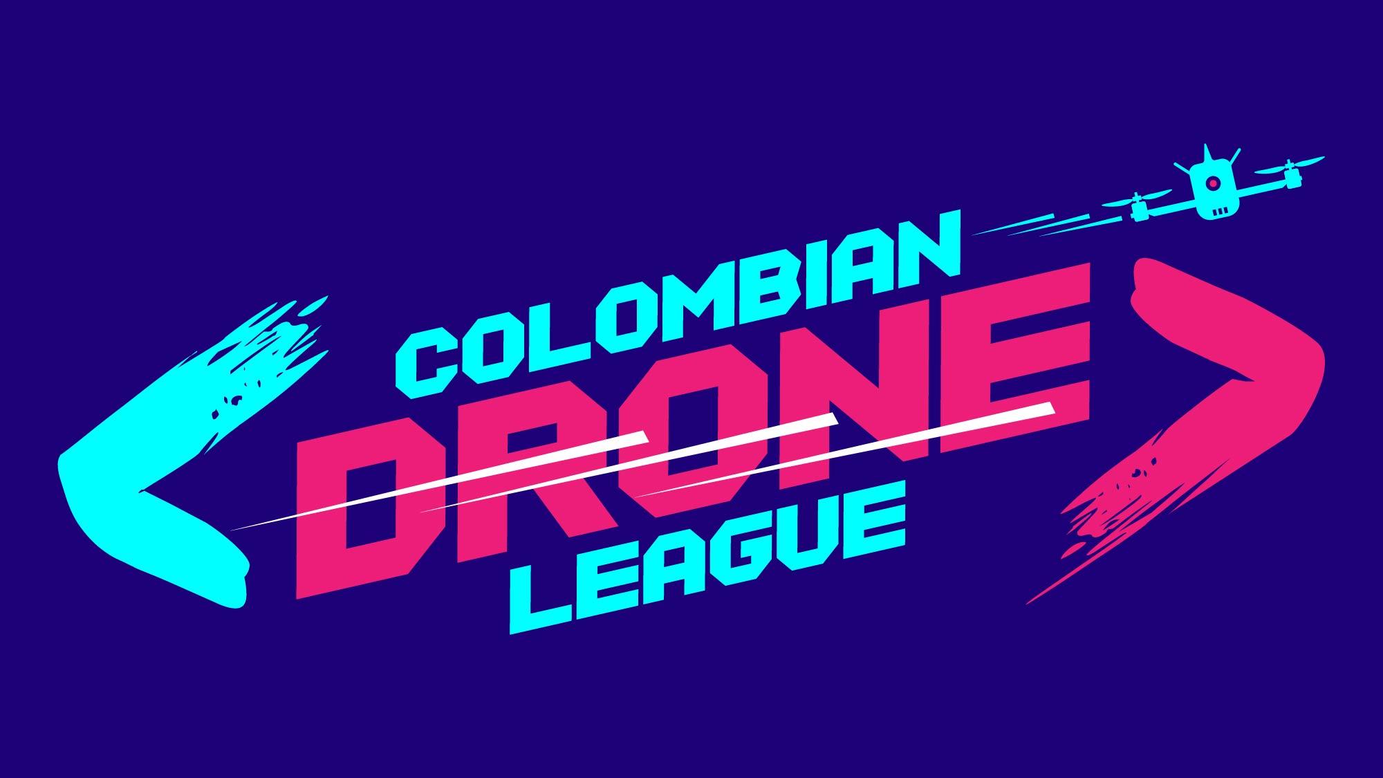 Logo Colombian Drone League