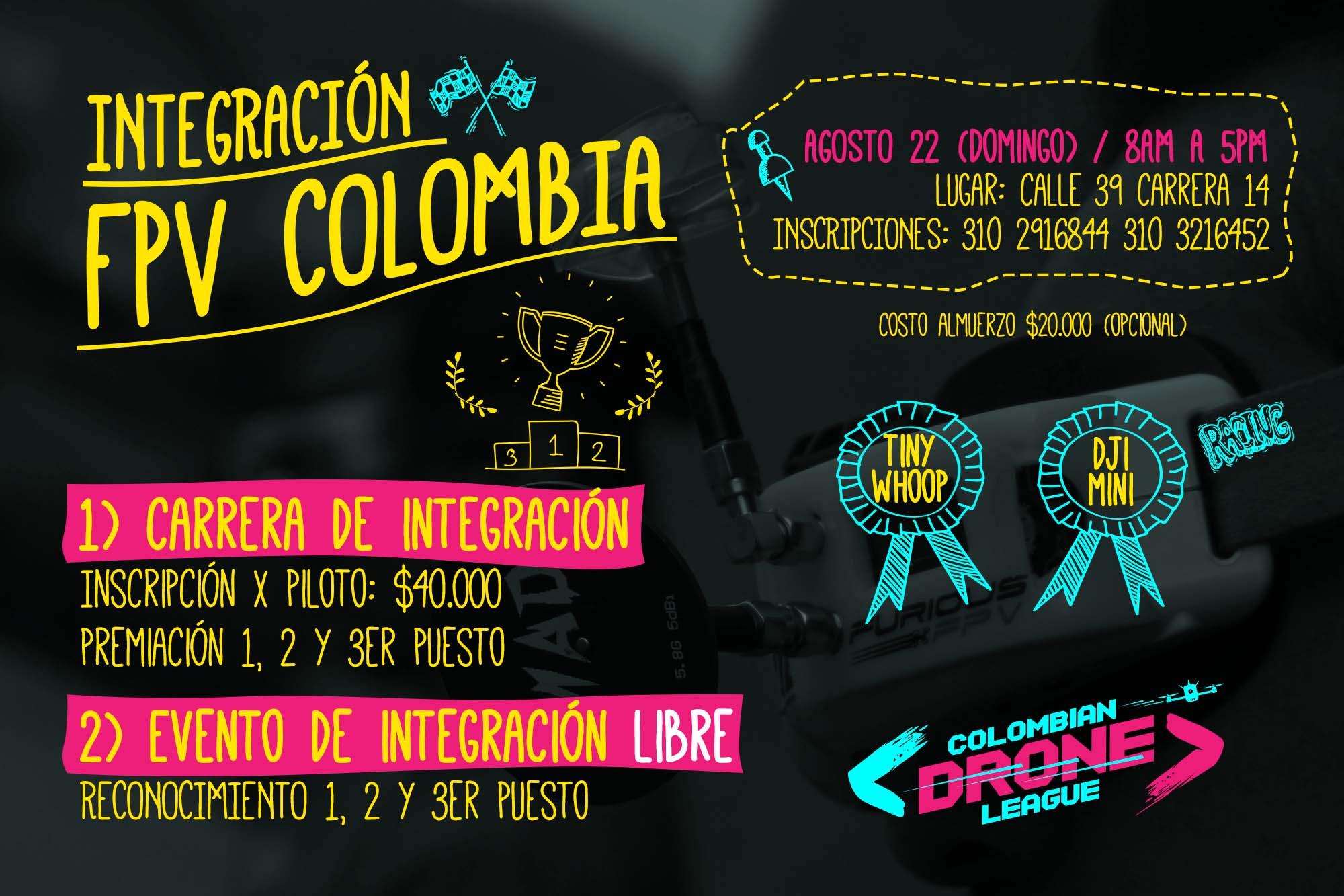 Carrera Drones Agosto 22 2021 - Bogotá